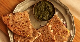 Cheesy Chicken Quesadilla from Chetna Makan